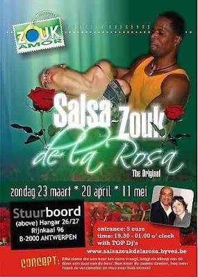 Zouk Amor Parties - Antwerpen