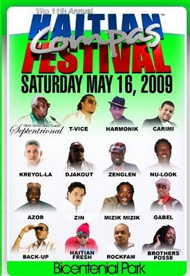 Haitian Festival - Featuring Djakout, Zenglen, Gabel, Azor, Haitian Fresh, Brothers Posse, Back-Up and many more.....