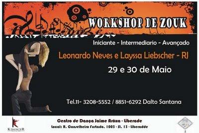 Zouk Workshops - May