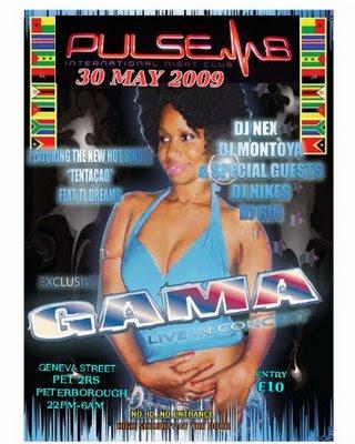 Gamas new Hot single Tentacao