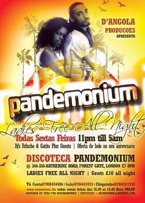 Pandemonium - London - Ladies Free all night visit us for more information