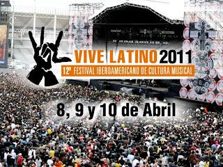 Fechas Vive Latino 2011.