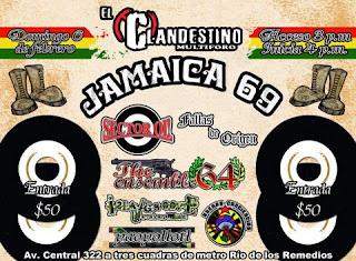 Jamaica 69 en El Clandestino