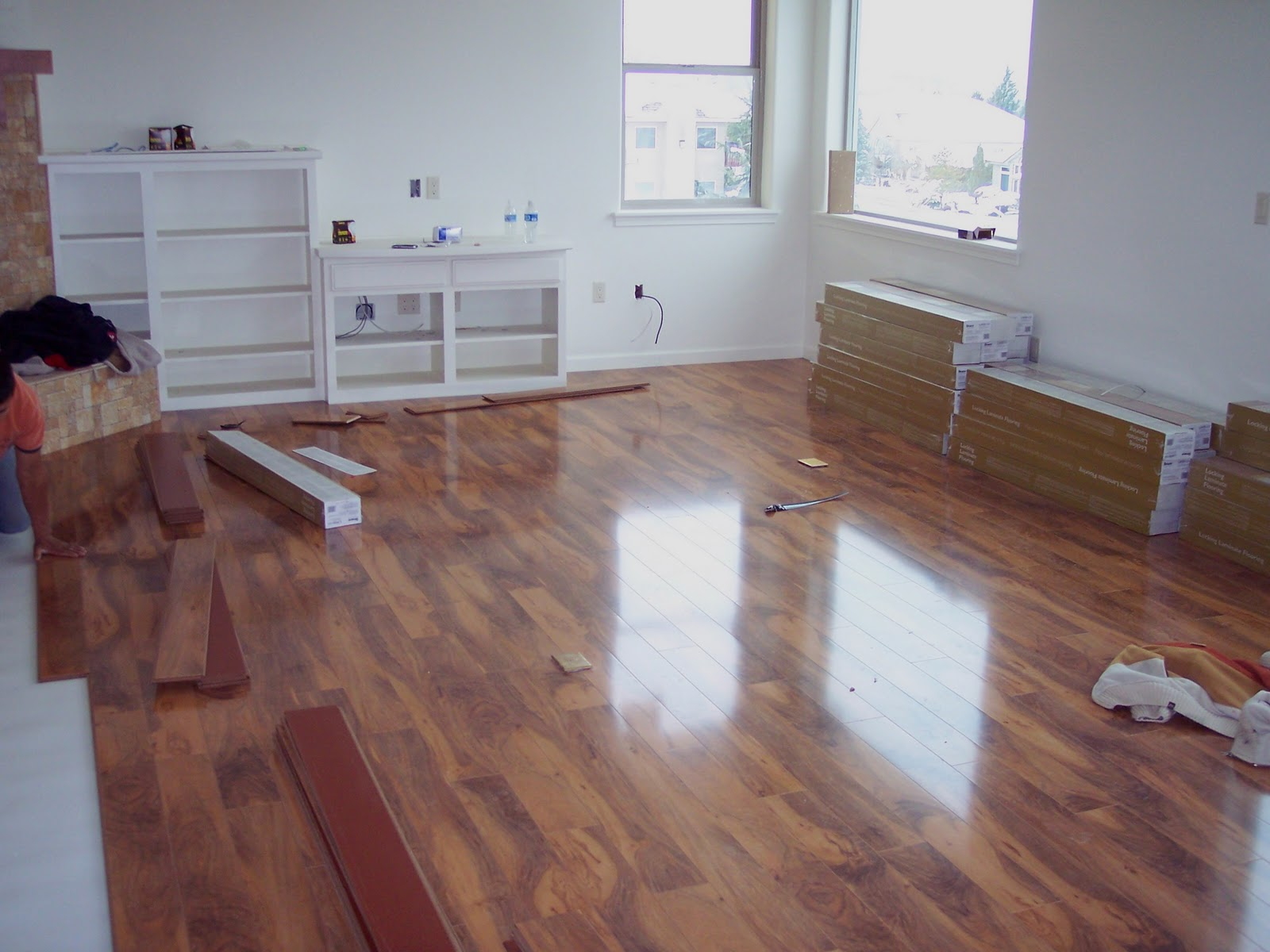 quick view bruce laminate flooring reserve hickory auburn spice l0221 flooring