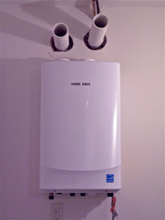 Building A Home The Navien Tankless Hot Water Heater