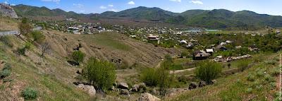 Панорамка: Кутлакская долина возле Веселого (Кутлак)