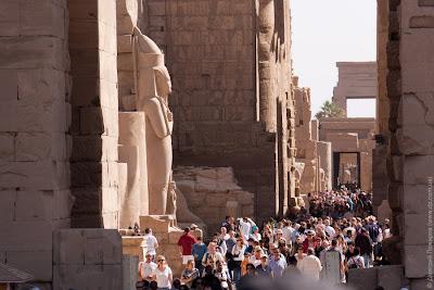 Египет. Храмы в Луксоре