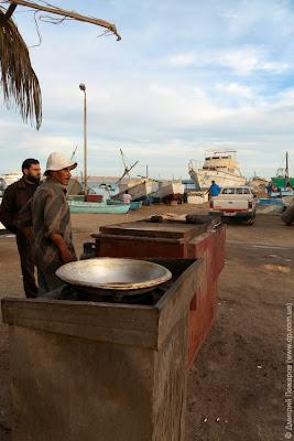Египет. Рыбный базар в Хургаде