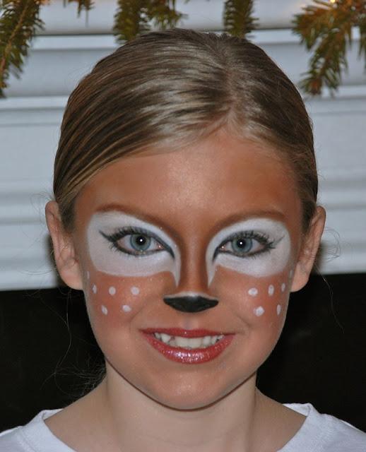 Reindeer makeup pinterest tutorial on you tube here