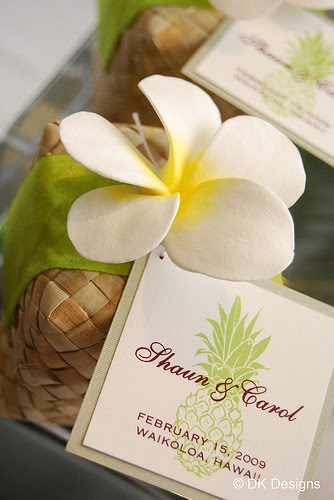 Hawaiian Weddings, Lauhala Boxes, Hawaiian Wedding Favors, Plumerias ...