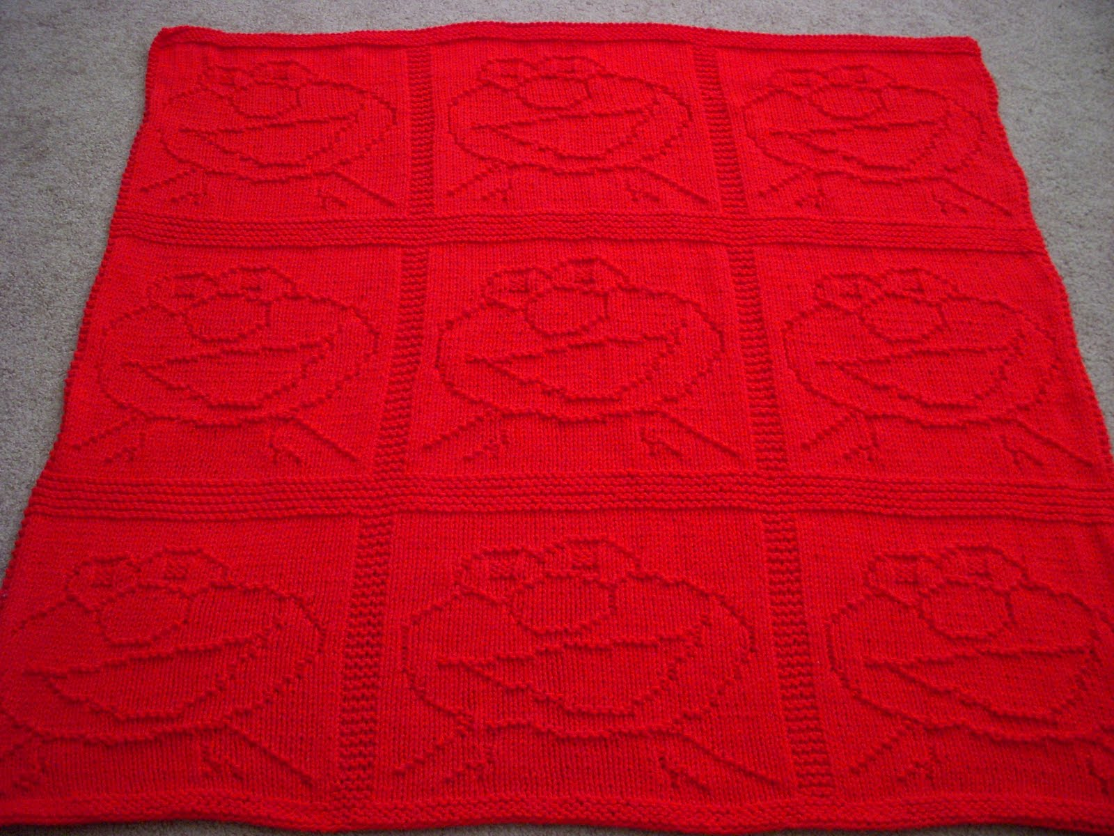 The knitting nanny pictures of the elmo blanket as you all know from my last post the elmo blanket is finally done woo so now i get to move on to other projects like the drop stitch scarf that i bankloansurffo Gallery