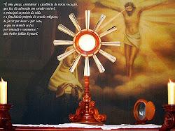 Adoração de Jesus Eucarístico