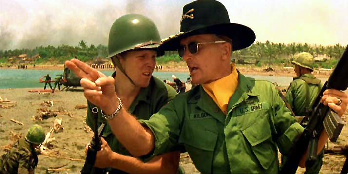 """I love the smell of napalm in the morning. It's the smell of... victory."""