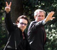 Bono & Bush