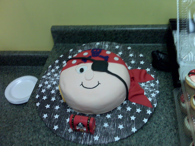 Pirate Cake! aarrgghh!