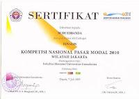 Sertifikat KNPM 2010