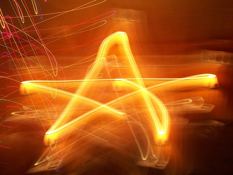 The special effects blog painting with light for Light art definition