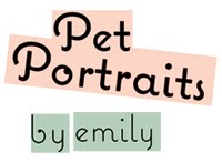 Pet Portraits by Emily