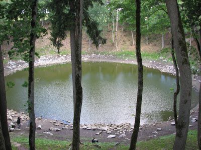 Kaali meteoritic lake