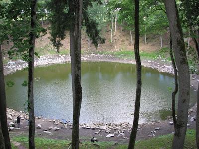 Kaali meteoritic lake