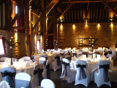 a barn as a wedding venue