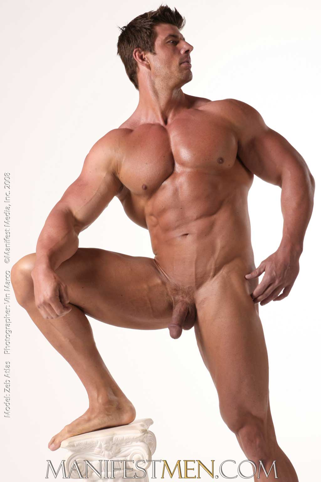 nude male muscle pic moderately