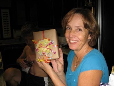 Cupcake liner gift wrap