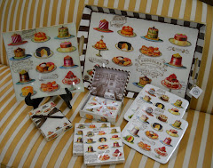 Trays,Glass Plates, matching paper napkins &amp; plates