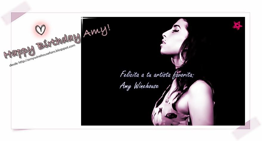 Feliz Cumpleaños Amy