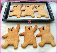 ballı zencefilli kurabiye
