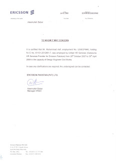 Muhammad asif profile experience certificate experience certificate yelopaper Choice Image