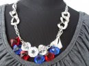 A 1060 - Red/blue necklace