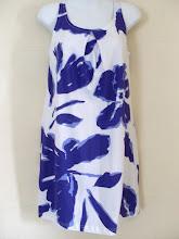 A 1155 - Purple/white dress