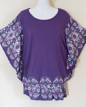 A 1169 - Butterfly top, fits size S,M,L