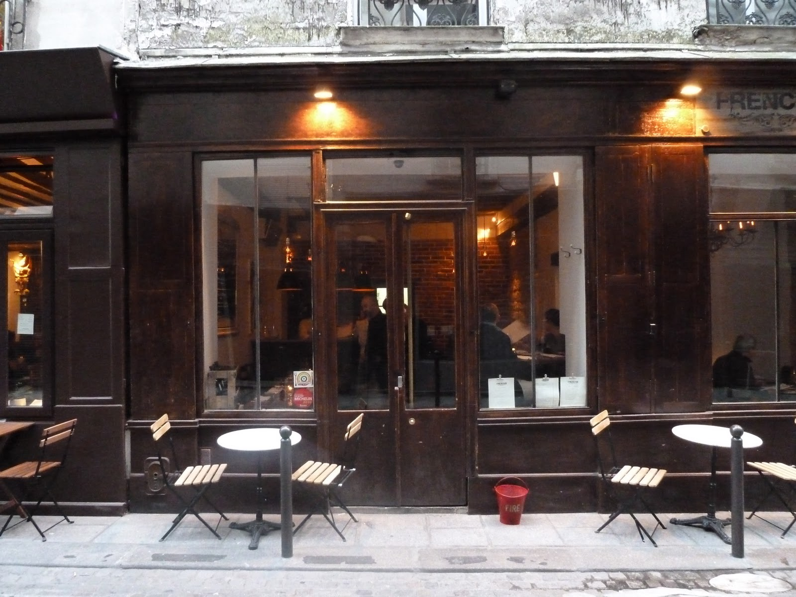 Paris missives frenchie restaurant review for Paris restaurant