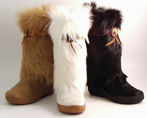 Perfect  Best Furry Fur Winter Boots For Women From Designer 2017 Warm Boots