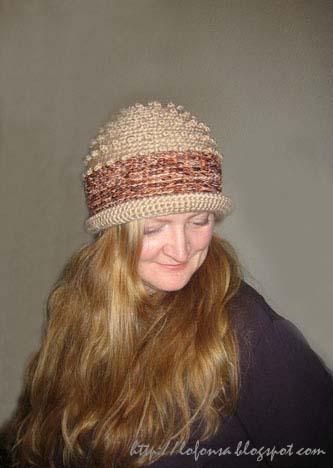 tamborēta cepure retro stils closhe lofonsa