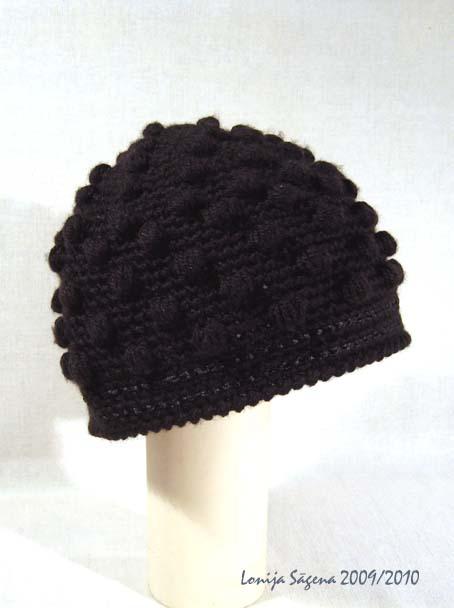 tamborēta cepure lofonsa