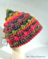 tamborēta sieviešu cepure, bumbuļu micīte