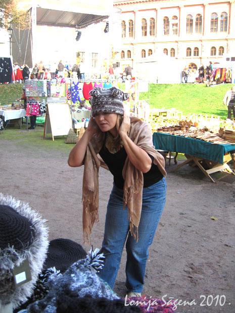 tamborētas cepures