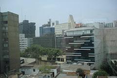 From office window