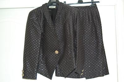 vintage Paul Costelloe suit clothes swap