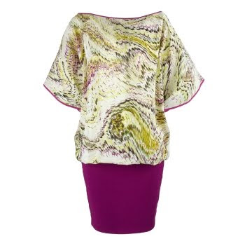 tesco couture florence and fred silk dress