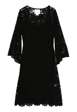 Sara Berman - Black Lace Dress