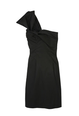 designer remix little black dress