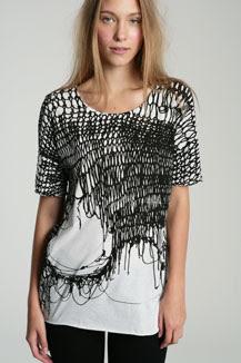 webbed t shirt