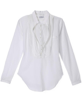 organic white shirt