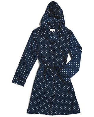 ethical polka dot trench
