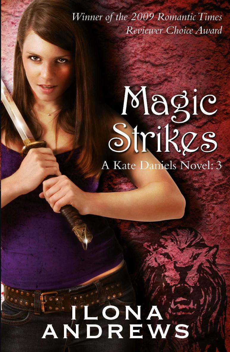book review magic strikes a kate daniels novel 3 by
