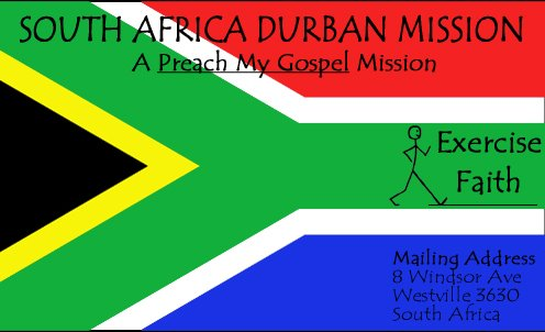 South Africa Durban Mission